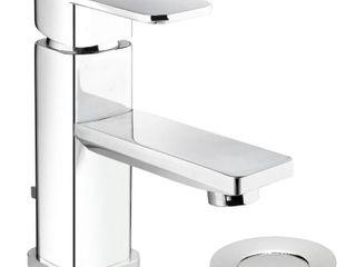 Belanger Single Handle Centerset Bathroom Faucet with Drain  Polished Chrome  Retail 99 99