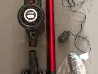 Onson Cordless Vacuum Cleaner  Red  Model  FS001 Power  15W Voltage  22 2V Motorized Brush Head