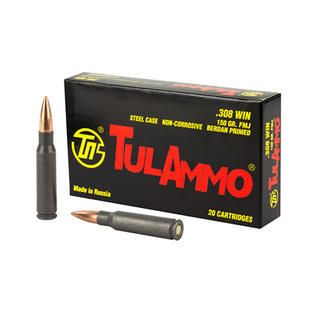 Just Added  TUlA 308 WIN FMJ 150gr 20 rnds