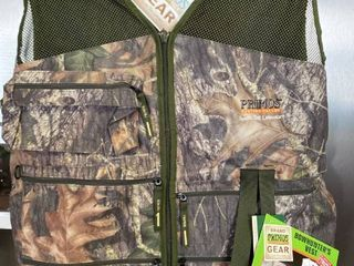 Primos Bowhunter s Vest Rh Medium Bow Hunters Vest Mossy Oak Break Up