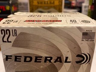 22 lR 325 count box 40g Federal Premium
