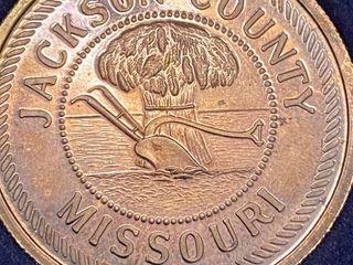 Rare Jackson County MO  999 Fine Silver American Revolution 1776   1976 Bicentennial Coin limited Edition 1 250 made