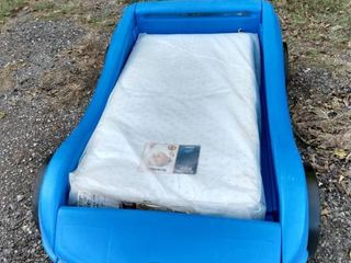 little tikes car toddler bed with brand new mattress
