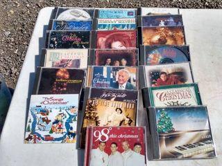 21 Christmas CDs including Beach boys Frank Sinatra Tony Bennett Harry connick Jr