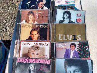 10 mixed Rock CDs