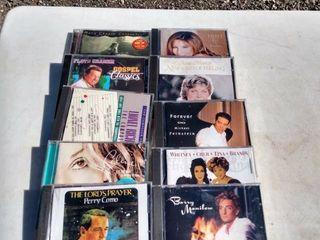 10  mixed CDs