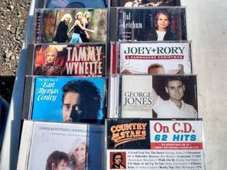 10 country CDs