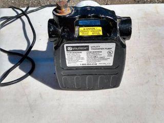 working Utilitech utility transfer pump