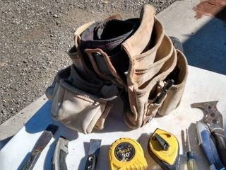 double husky tool belt with extras