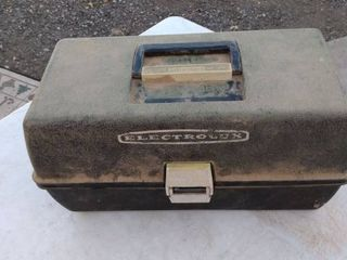Electrolux tackle box and contents
