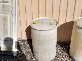 30 gallon plastic barrel