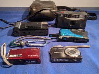 five cameras