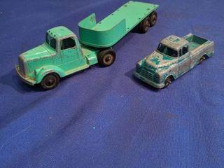 vintage tootsietoy toy truck