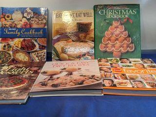 six cookbooks