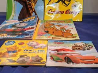 kids books and coloring books