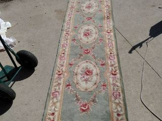 30 in x 125 in Hall runner needs cleaned