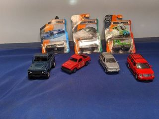 matchbox cars and other cars