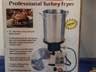 heatmac professional turkey fryer new inbox