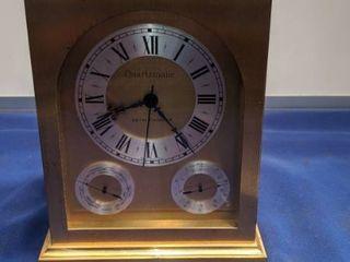 Seth Thomas quartzmatic clock takes battery no testing done
