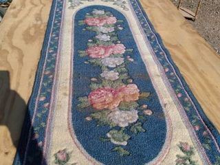 22 in x 61 in rug needs cleaned