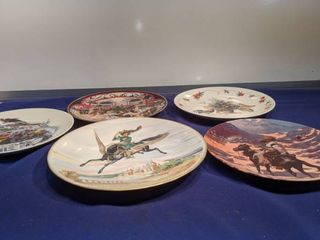 five plates