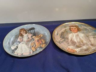 The world of children plate and princess Grace plate