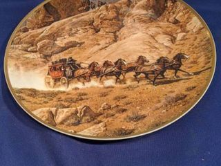 under surveiliance from the original painting by Frank c Mccarthy plate number 3581 of 10 000