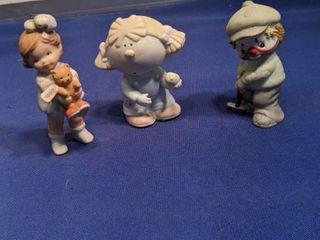 three figurines