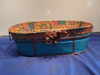 tin oblong bucket