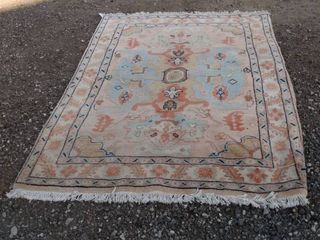 60 in by 82 in genuine hand woven oriental rug original price  2350 00