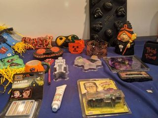 Halloween decoration jello mold makeup CD and Crystal soap