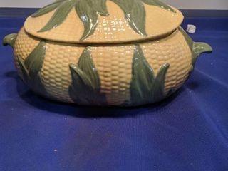 corn bowl has chip