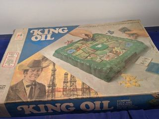 King oil game age 9 to adults
