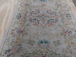 22 in x 44 in rug needs cleaned