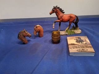 horses figurine and the way of the cowboy book