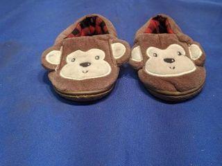 monkey slipper size 4