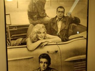Marilyn Elvis Humphrey and James Dean