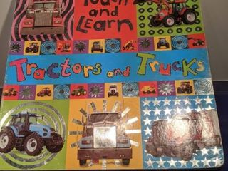 touch and learn tractors and trucks