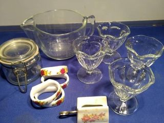 for ice cream sundae dishes glass bake measuring cup 1 4 can not for canning for napkin rings