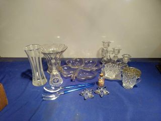 variety of glassware friendship Bell