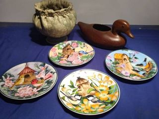 two planters duck is from the country club plaza for very nice bird plates