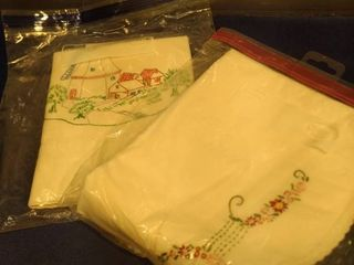 very pretty pillowcases embroidered