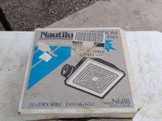 new inbox Nautilus bathroom fan