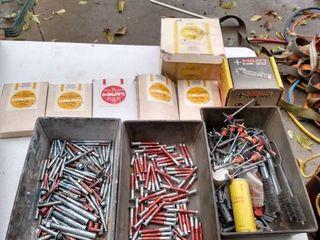 box of Hilti accessories