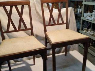 2 leg o matic folding chairs