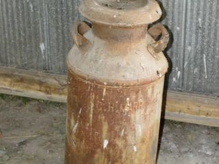 Milk Can with lid