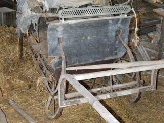 Antique Horse Drawn Cutter