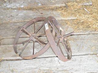 2  19  Wheelbarrow Wheels
