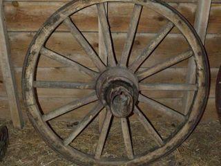 Antique Wagon Wheel  44