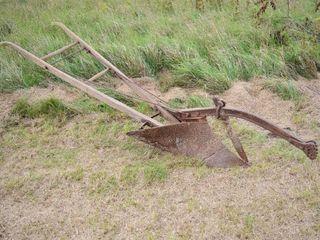 Antique Walking Plow